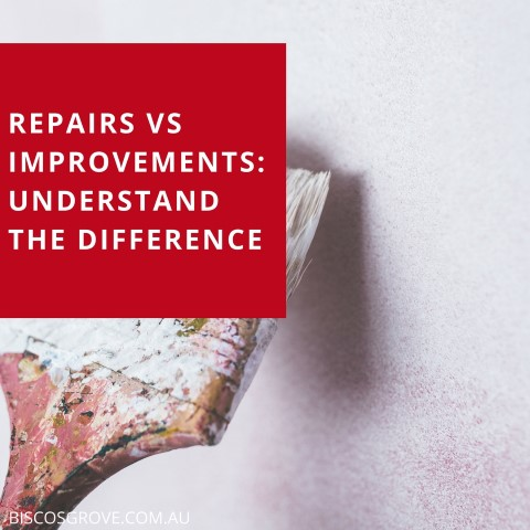 repairs vs improvements