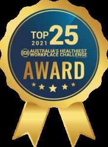 Australia's Healthiest Workplace Challenge Award